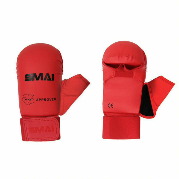 Picture of WKF Approved Karate Mitts Red