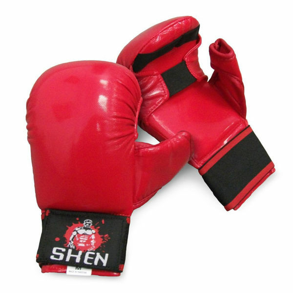 Picture of Shen Karate Mitts Red