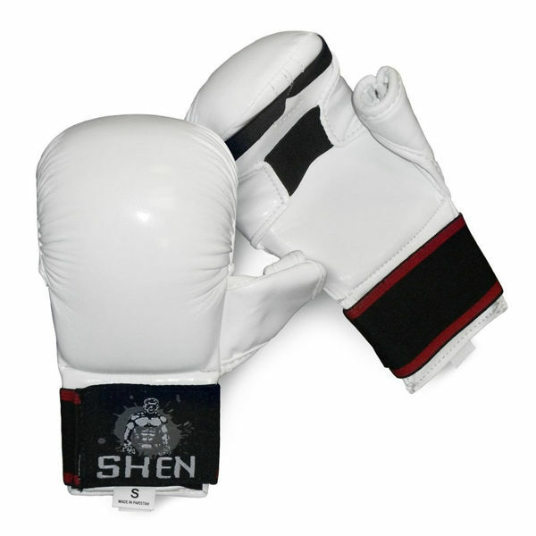Picture of Shen Karate Mitts White