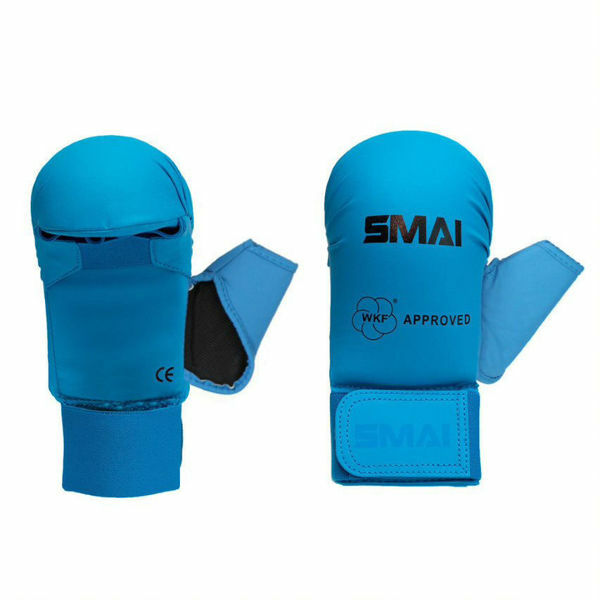 Picture of WKF Approved Karate Mitts Blue