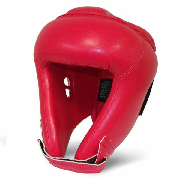 Picture of Head Guard Open Red